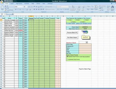 vacation spreadsheet template images reverse search
