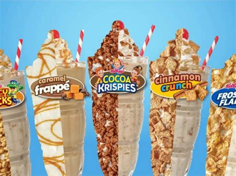 Cereal Tempe you can now order cereal milkshakes from steak n shake abc15 arizona