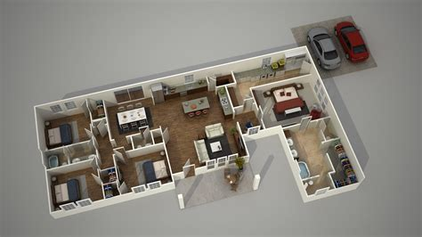 3d ground floor plan how to create a 3d architecture floor plan rendering