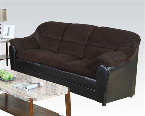 acme sofa acme sofa connell chocolate ac15975