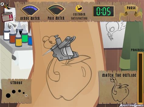 tattoo games free artist 2 hacked cheats hacked free