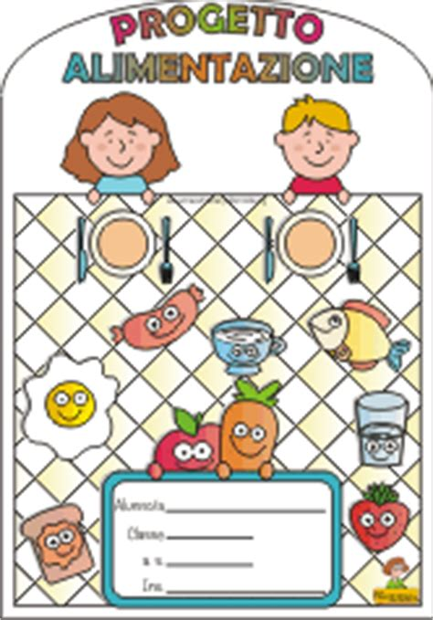 progetti alimentazione copertine per quaderni di scuola primaria da stare e