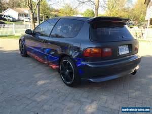 Honda Civic Used Cars For Sale In Abu Dhabi 1992 Honda Civic For Sale In Canada