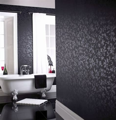 tapete badezimmer design tapete badezimmer