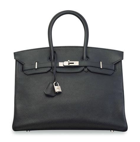 He Birkin Ghillies 25 Cm Handbags 6813mff sac birkin 35 en cuir togo noir garniture en m 201 tal argent 201 palladi 201 herm 200 s 2006 christie s