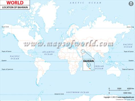 bahrain on world map where is bahrain location of bahrain