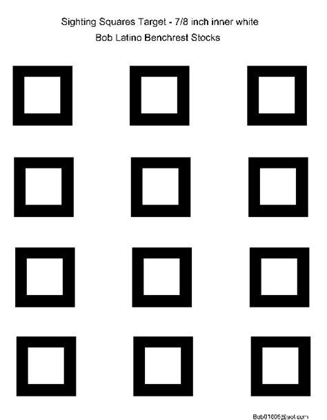 printable headshot targets 8x11 printable benchrest targets clipart library