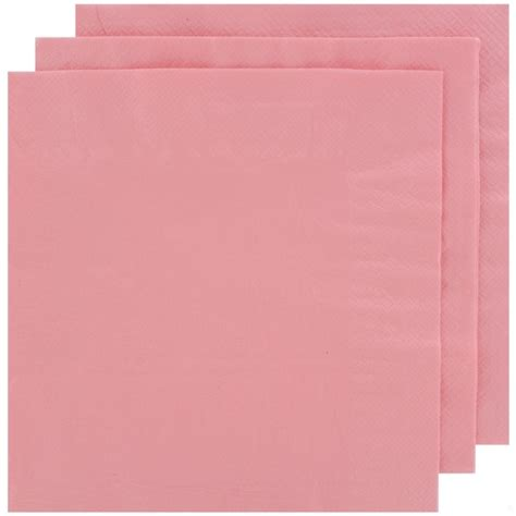light pink paper dinner napkins light pink napkins dinner 2 ply pk100 alpen