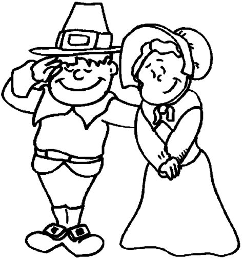 pilgrim coloring pages thanksgiving pilgrims coloring