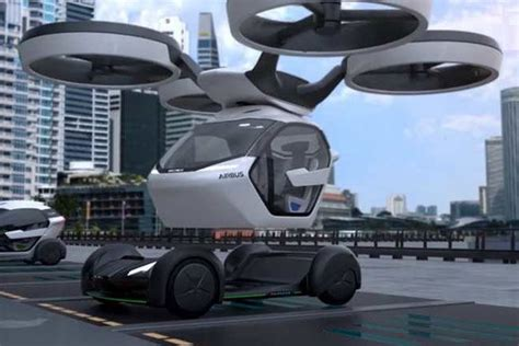 Flying Car Airbus by Airbus Flying Car Concept