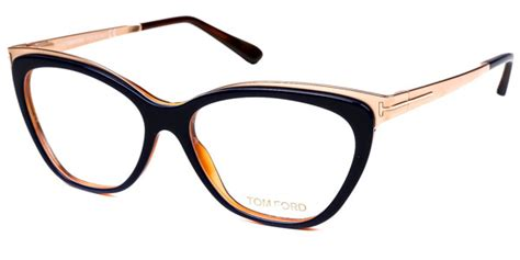 Tom Ford Aims To Create A New Version Of Luxury For by Tom Ford Ft5374 090 Brille Shiny Blue Smartbuyglasses