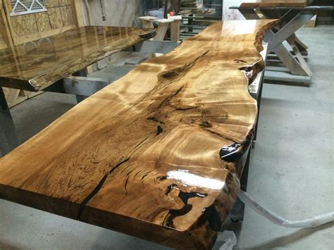 live edge tables furniture tree green team collingwood