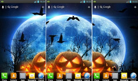 wallpaper android halloween free halloween android live wallpapers animated