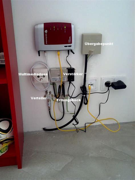 haus telefonanschluss installation hausanschlu 223 multimediadose vodafone