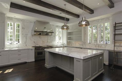 white marble kitchen with grey island house home gray kitchen island contemporary kitchen