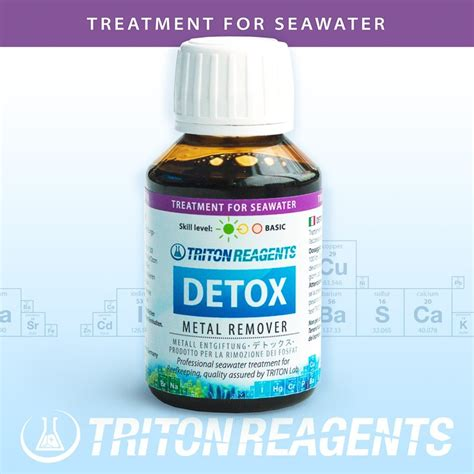 Triton Detox For Aquarium by Triton Labs Detox 100ml