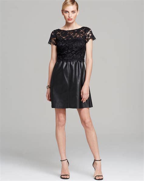 bailey 44 dress starry sky sleeve lace illusion