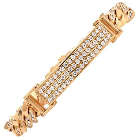 designer 18k gold chain s id bracelet