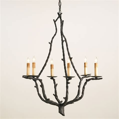 Lighting Chandeliers Currey And Company 9006 Soothsayer Six Light Chandelier
