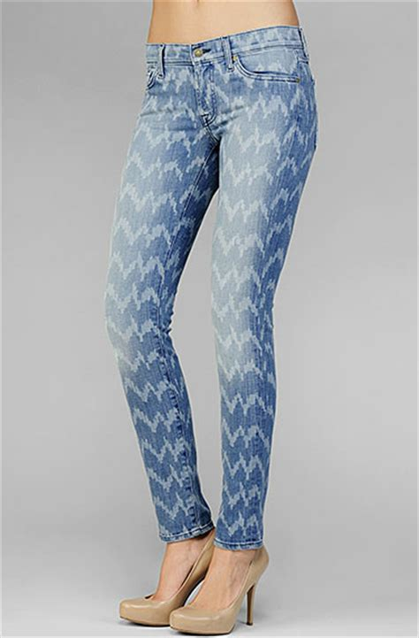 laser pattern jeans win a pair of 7 for all mankind ikat pattern jeans
