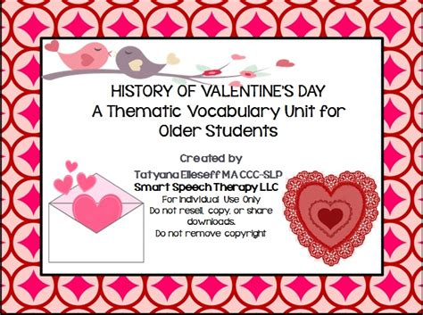 origins of valentines day the origins of valentine s day thematic language activity