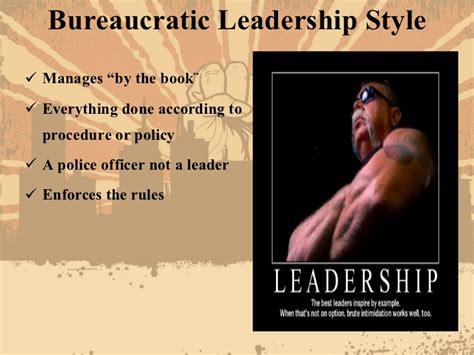exle of bureaucracy leadership styles with exles