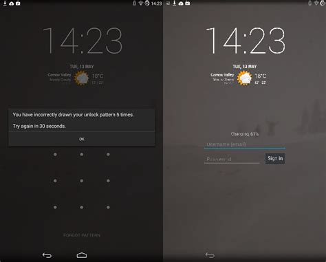 pattern lock sign up forgot your lock pattern here s how to bypass it androidpit