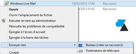 raccourci bureau windows 8 ajouter des raccourcis de programmes sur le bureau de