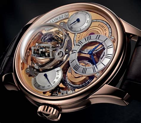 Lv 01 Rosegold Limited zenith academy christophe colomb hurricane is