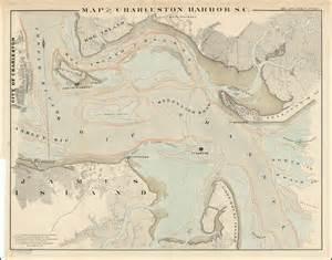 charleston harbor barry lawrence ruderman antique maps