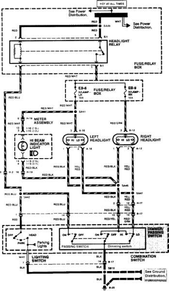 1998 Isuzu Rodeo Fuel Pump Wiring Diagram