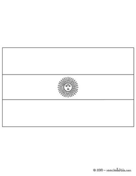 flag of argentina coloring pages hellokids com