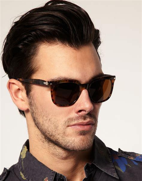 Jo In Retro Sunglasses Silver lyst persol persol wayfarer sunglasses in brown for