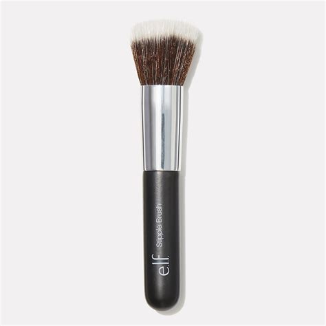 Stipple Brush beautifully bare stipple brush e l f cosmetics