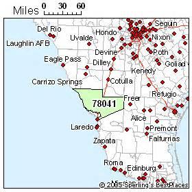 laredo zip code map best places to live in laredo zip 78041