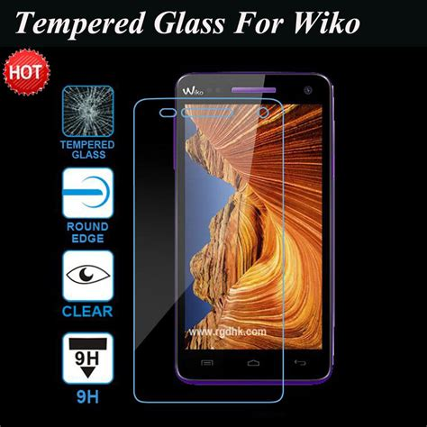 Tempered Glass Wiko Fab 2 5d 9h tempered glass screen protector for wiko pulp fab