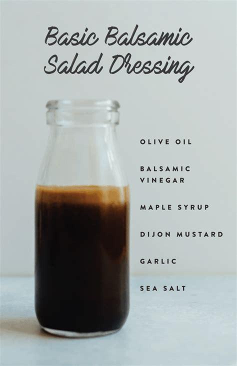 Detox Salad Maple Syrup Rice Vinegar by 6 Healthy Salad Dressings Bird Food
