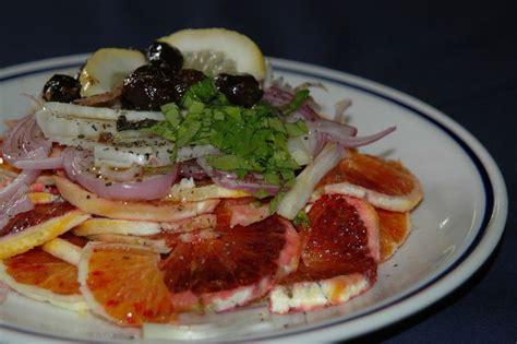 cuisine italienne facile salade d orange recette de la cuisine italienne
