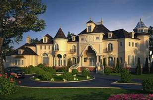Luxury Home Designs - castle luxury house plans manors chateaux and palaces in