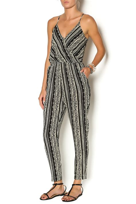 Jumpsuit Ethnic lush ethnic print jumpsuit from williamsburg by la di da shoptiques