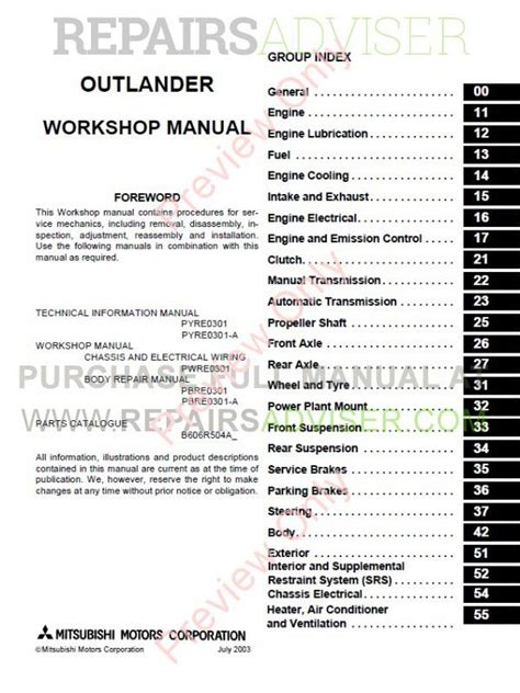 car engine manuals 2007 mitsubishi outlander parental controls service manual online repair manual for a 2006 mitsubishi outlander mitsubishi outlander