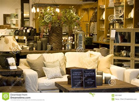 home interior decoration accessories furniture home decor store editorial photography image of