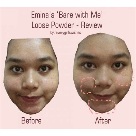 Emina Bedak Tabur Bone With Me emina bare with me mineral powder