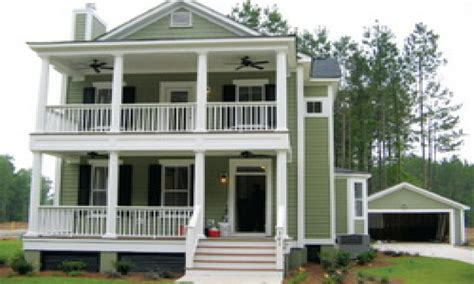 charleston style house plans side porch house style and