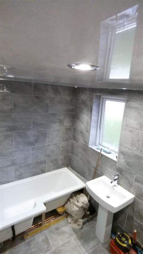 bathroom floor tile ideas and warmer effect they can give indus dark grey stone effect porcelain wall floor tile