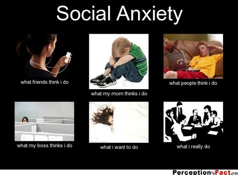 Social Anxiety Meme - social anxiety what people think i do what i really