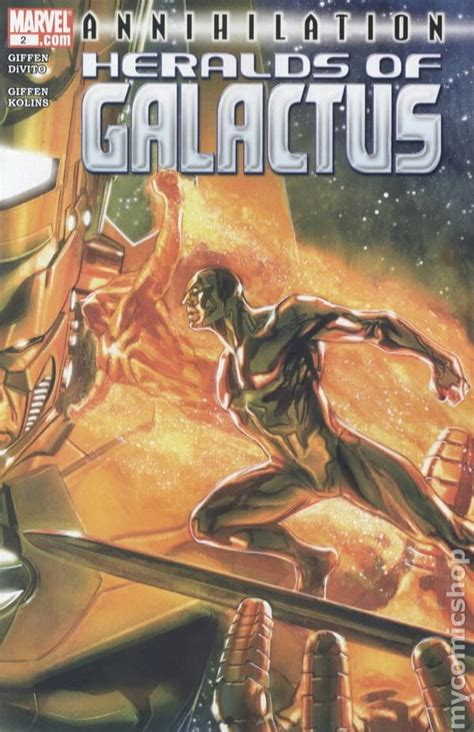 the annihilation of planet ks books annihilation heralds of galactus 2007 comic books