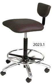 Hair Cutting Stool With Back by Cutting Stools