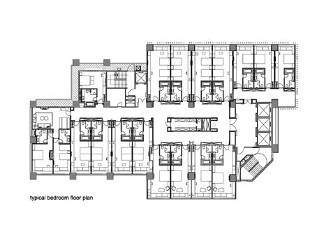 hotels floor plans 508097f328ba0d089000003f hotel dua koan design typical