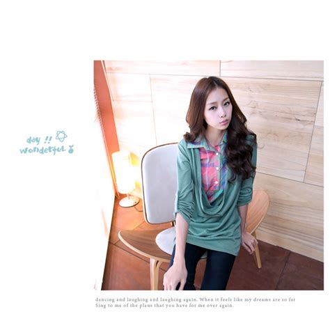 Baju Atasan Wanita Murah Atasan Korea Import Louise Top atasan wanita korea lucu 2014 model terbaru jual murah import kerja